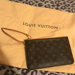 Authentic Louis Vuitton Pouch
